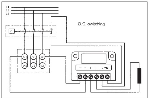 DC Switching in Delta Connection