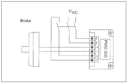 DC Switching of PMG Fast Excitation Rectifier