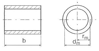 Thin wall cylinder