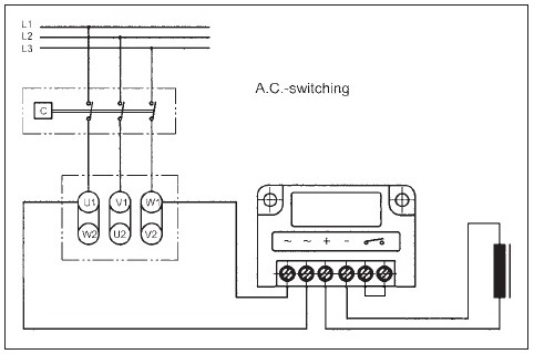 AC Switching in Delta Connection