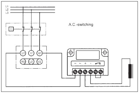 AC Switching in Star Connection