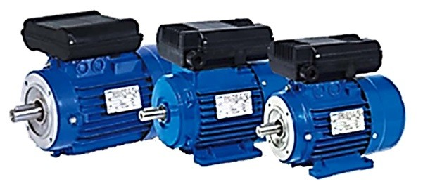 Wonder Electric Single Phase Motors - Series MY / ML
