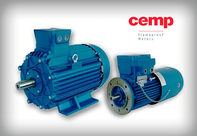 Cemp flameproof - explosionproof motors